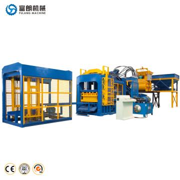 Big capacity automatic concrete interlocking pavers block making machine