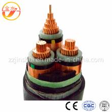 3.6 / 6 Kv 21/35 Kv кабель Cu / XLPE / стальная / ПВХ стальная лента бронированный кабель DIN VDE 0276