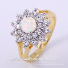 2018 venda quente novo design duplo chapeamento anel de prata ródio banhado a jóia é sua boa escolha
