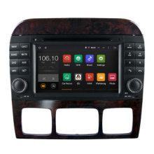 Android 5.1 / 1.6 GHz voiture DVD navigation GPS pour Benz S / SL Lecteur DVD avec connexion WiFi