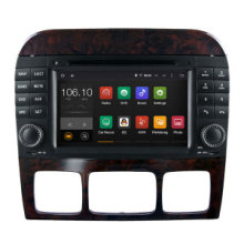 Android 5.1/1.6 GHz Car DVD GPS Navigation for Benz S/SL DVD Player with WiFi Connection