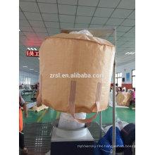 PP super bag large 3 ton sand bags beige color