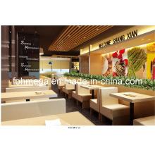 Restaurante de comida rápida de alta cabina de muebles (FOH-XM03-22)