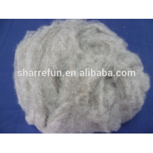 Pure Dehaired Raw Cashmere Fibre Brown 16.5Mic/36MM