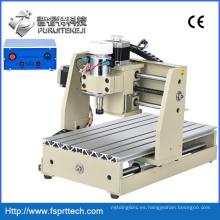 Máquina de grabado CNC de procesamiento de madera de plástico acrílico