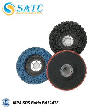 Disco de aleta de respaldo de fibra de vidrio de larga duración para pulir