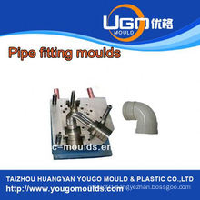 TUV assesment mould supplier for standard size plastic pipe fitting injection mould in taizhou China