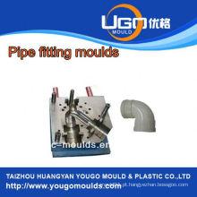 Fornecedor de moldes de teste TUV para moldagem de tubos de plástico de tamanho padrão moldagem em taizhou China