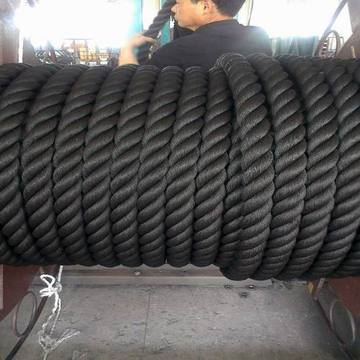 Black 3 Strand PP Rope