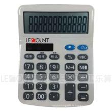 Calculatrice de bureau Dual Power de 12 chiffres avec fonction fiscale facultative (CA1200)