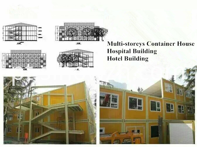 Container house Building hospital and hotel
