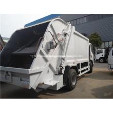 Camion à ordures avec transfert