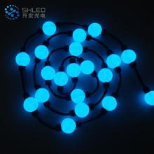 boule lumineuse LED RVB programmable