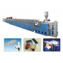 WPC Production Line, WPC Profile Production Line (XSJ65)