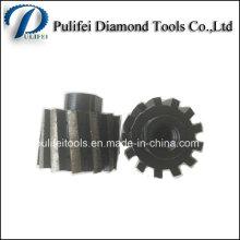 Металлическая Связка Влажного Использования Агломерата Сегмент Алмазный Барабан Колеса