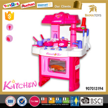 Battery operated toy kitchen set cooking game only for girls