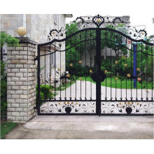 2016 New Design High Quality Wrought Iron Gate