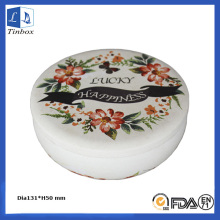 16 OZ Round Empty Candle Tin Holders