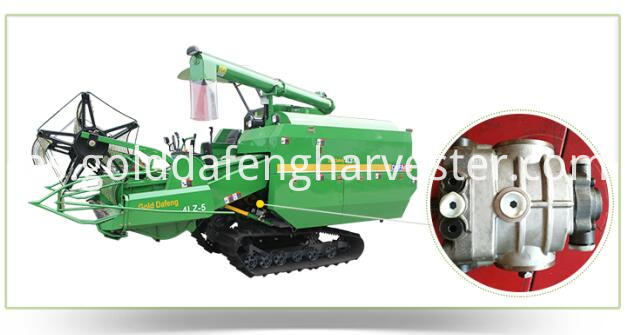 Crawler Type Rice Combine Harvester Hst