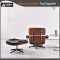 Beliebte Design Leder Holz Charles Emaes Lounge Chair