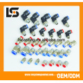 Various Carbon Steel Plastic Tube Pneumatic Fittings