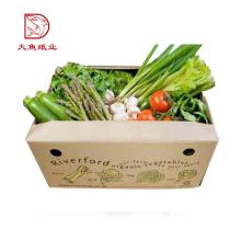 Qualitätsgroßhandelswellpappenkühlschrank-Gemüsekasten der kundenspezifischen Größe