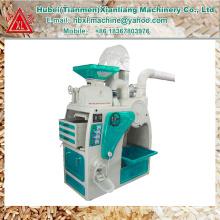 Oferta de fábrica 1 ton auto mini maquinaria do moinho de arroz