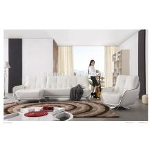 living room furniture sofa modern genuine leather sofa sets JM1052A 01