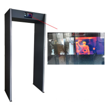 AI Thermal Imaging Body Temperature Scanner Doorlopen