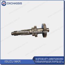 Engranaje de contador NKR genuino Z = 51: 34: 22: 14 8-97030-871-0 / 8-97029-335-0