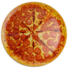 Placa de pizza redonda da melamina 14inch