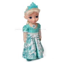Custom Kids Children Frozen Plastic Princess Figure Doll Toy