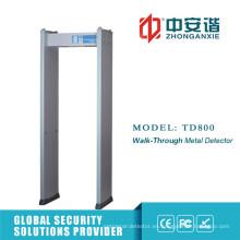 Detector de metales anti interferencia de alta frecuencia ajustable de 50 con protección por contraseña