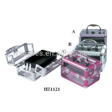 high quality cosmetics acrylic case with one tray inside from China manufacturer