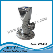 Polished Chrome Angle Valve (V22-116)