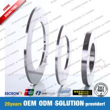 Lames circulaires de rebobineuse de découpeuse pour l'industrie en acier en métal de papier