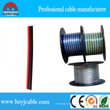 Two Colors Parallel Twin Cores PVC Jacket Factory Price Speaker Cable