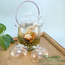 100% artesanal flor artístico chá de florescência (BT003)