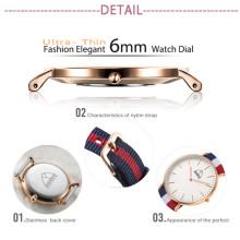 Dw Stil Uhr Weihnachten Armbanduhr Japan Movement Watch (DC-SZ124)