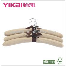Cintres rembourrés en coton de haute qualité