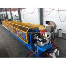 Máquina formadora de rolos de downspout de tubo soldado