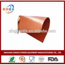 silicone rubber coated fiberglass fireproof curtain cloth