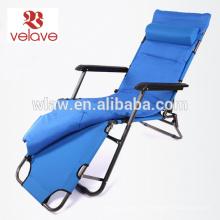cadeira de espreguiçadeira acolchoada