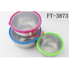 Stainless Steel Airtight Preserving Bowl (FT-3873)