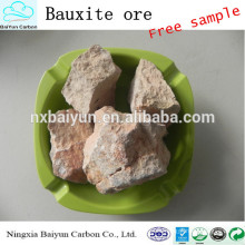 85-90% precio de bauxita calcinada de alta calidad