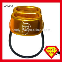 Aluminium forgé ATC, corde 8-11mm, dispositif Belay Slot double