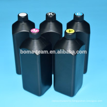 BOMA UV Led Ink Suit For Epson R1800 R1900 R2000 R3000 4800 4880 printer UV ink for hard material like Metal 500ml 5Colors