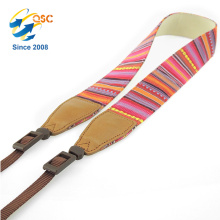 Best Quality And Competitive Price Universal Cotton+Leather Camera Strap For Young People
