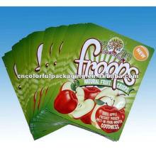 Material laminado sacos de embalagem de suco de maçã