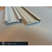 Алюминиевый профиль для направляющих жалюзи для оконных занавесок